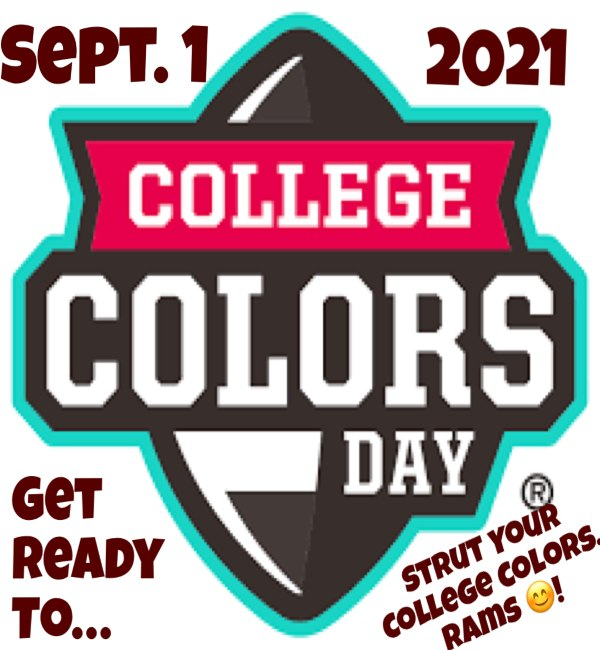 College Colors Day!